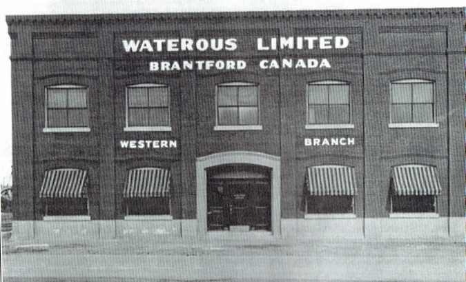 Waterous Edmonton office 1932