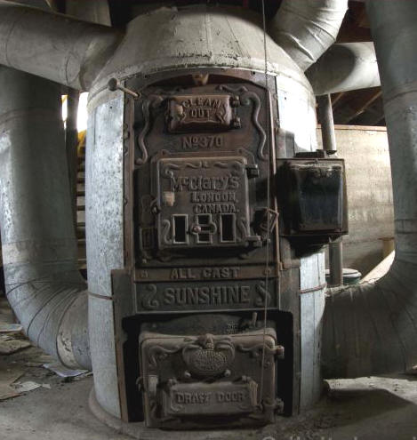Mcclary for Whole house wood furnace