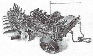 steam engine plow
