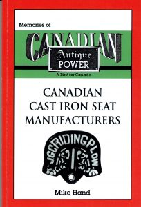 Canadian Cast Iron Seat Manufacturers